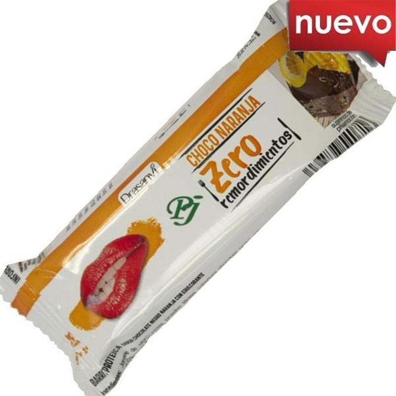 Drasanvi Zero Remordimientos Barrita Chocolate y Naranja 35gr