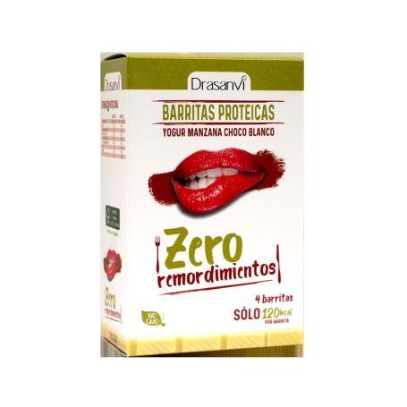 Drasanvi Barritas Proteicas Yogur Manzana y Chocolate Blanco 4ud