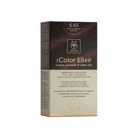 Apivita My Color Elixir 6.65 Dark Blonde Red