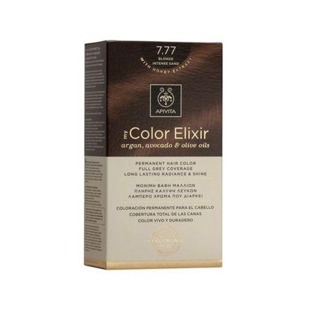 Apivita My Color Elixir 7.77 Blonde Intense Sand