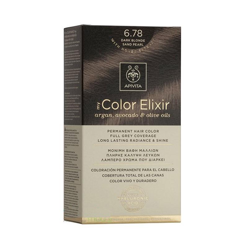 Apivita My Color Elixir 6.78 Dark Blonde Sand Pearl