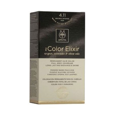 Apivita My Color Elixir 4.11 Brown Intense Ash