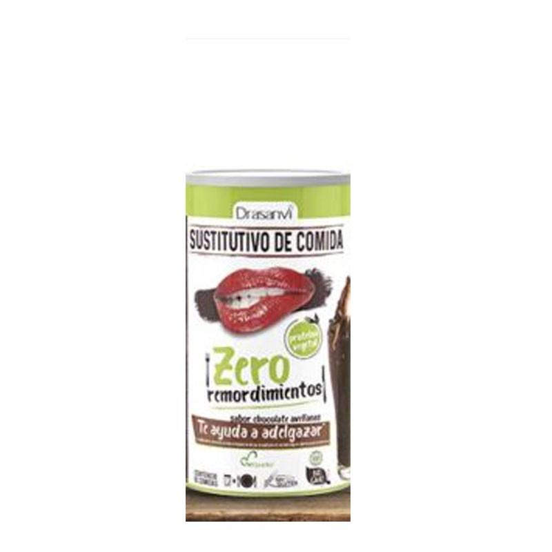 Drasanvi Sustitutivo de Comida Chocolate Avellanas Proteína Vegetal 520gr