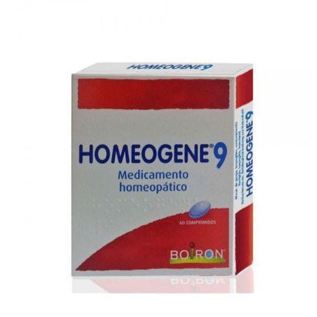 Homeogene 9 Tratamiento Homeopático Dolor Garganta 60 comprimidos