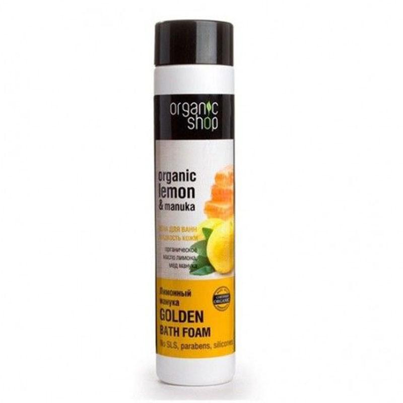 Organic Shop Espuma de Baño Miel y Limón 500ml