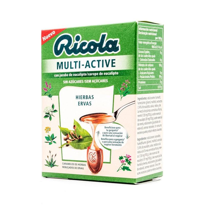 Ricola Multi Active Caramelos Hierbas 51gr
