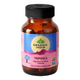 Organic India Triphala 90 cápsulas digestivo limpieza colon,inmunidad,