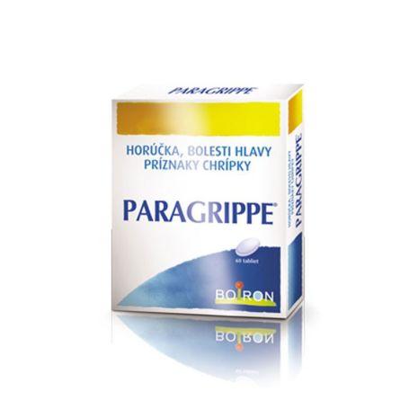 Paragrippe tratamiento homeopático para la gripe 60 comprimidos