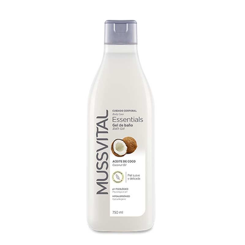 Mussvital Essentials Gel de Baño de Coco 750ml