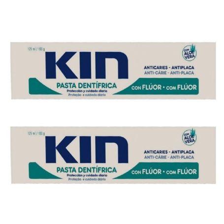Kin Dentífrico Anticaries 125ml x2 unidades