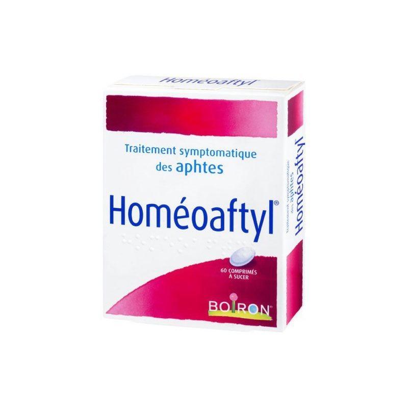 Boiron Homéoaftyl Aftas Bucales 60 comprimidos