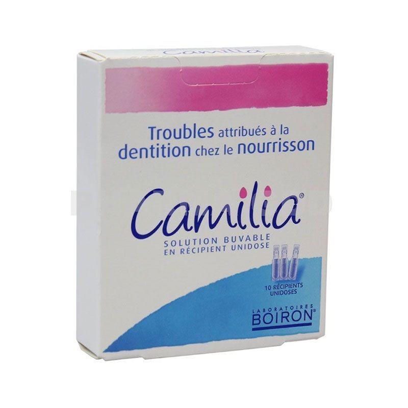 Boiron Camilia dentición del lactante 10 monodosis