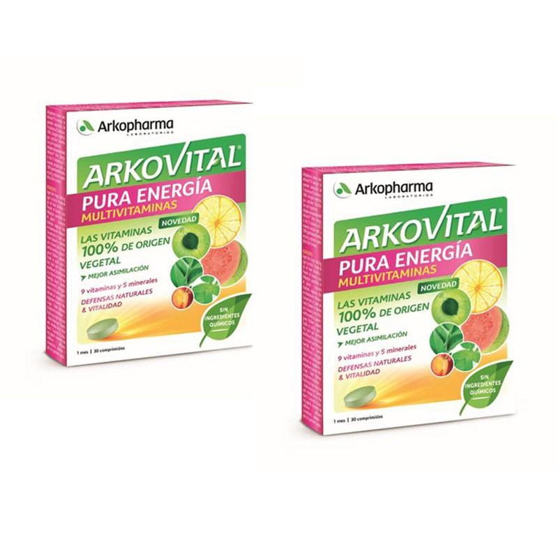 Arkovital Pura Energía Multivitaminas Pack 2 unidades