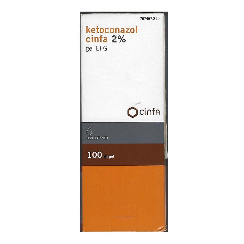 Ketoconazol Cinfa 2% Gel 100ml