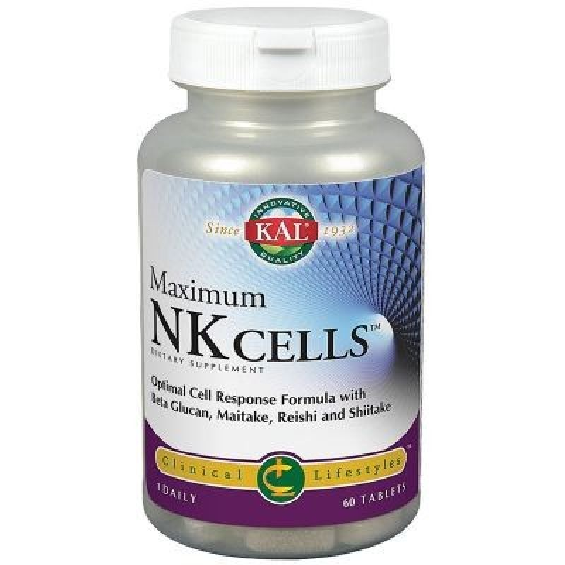 Solaray Maximum NK Cells Sistema Inmune 60 comprimidos