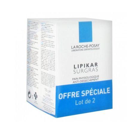 La Roche Lipikar Surgras Jabón 150gr x2 unidades