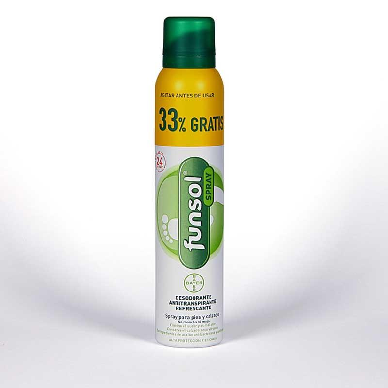 Funsol Spray Antitranspirante Pies 200ml