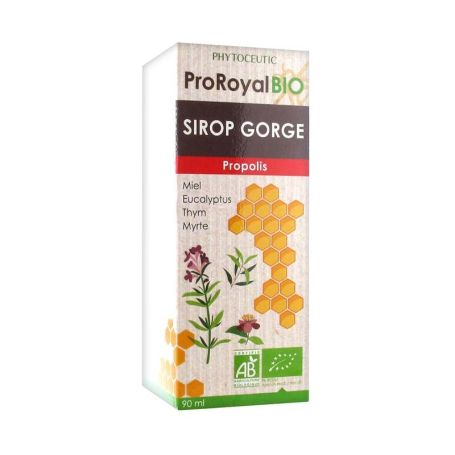 ProRoyal Bio Jarabe Própolis Garganta 90ml