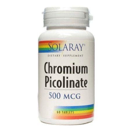 Solaray Chromium Picolinato 200mg 50 tabletas