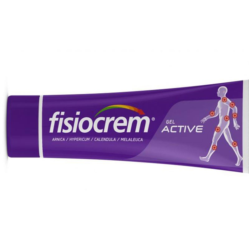 Fisiocrem Gel Active Dolores y Contusiones 60ml