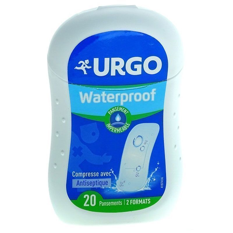 Urgo Waterproof Tiritas Antisépticas 20ud