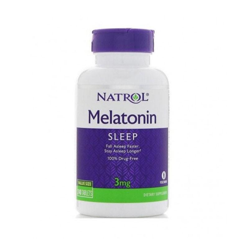 Melatonina Natrol 3mg 240 tabletas