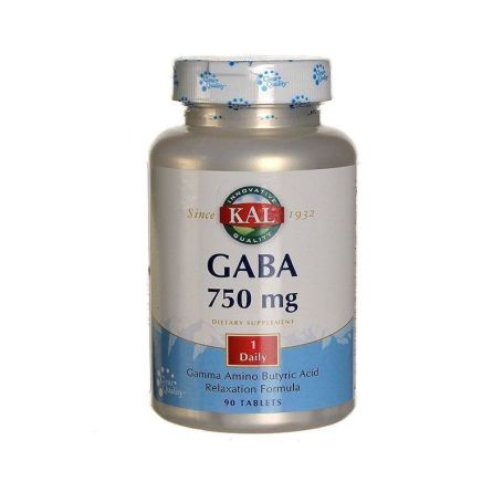 Solaray Gaba 750mg 90 tabletas