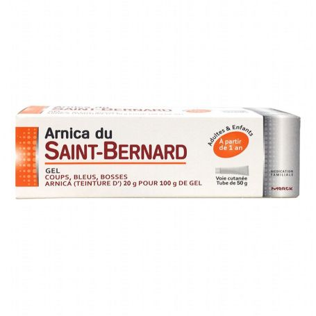 Saint Bernard Gel de Arnica 50gr