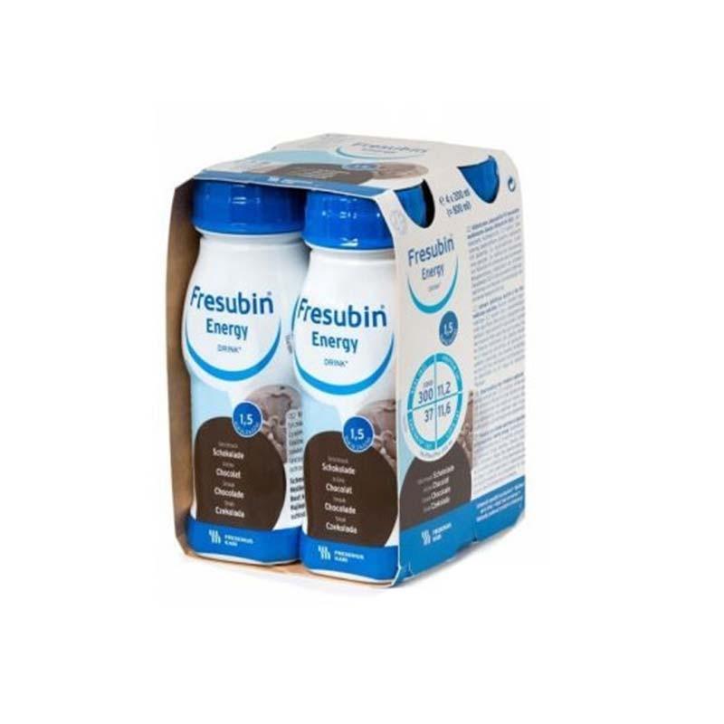 Fresubin Energy Batido Chocolate 200ml x4 unidades