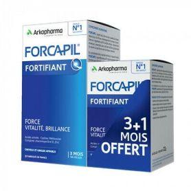 Forcapil Cabello y Uñas 180 cápsulas + 60 de regalo