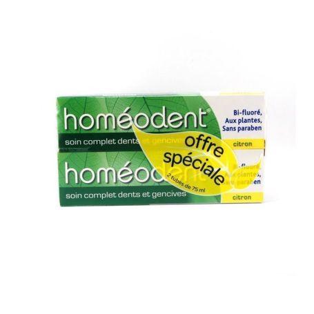 Boiron Homeodent Dentífrico Limón 75 ml x2 unidades