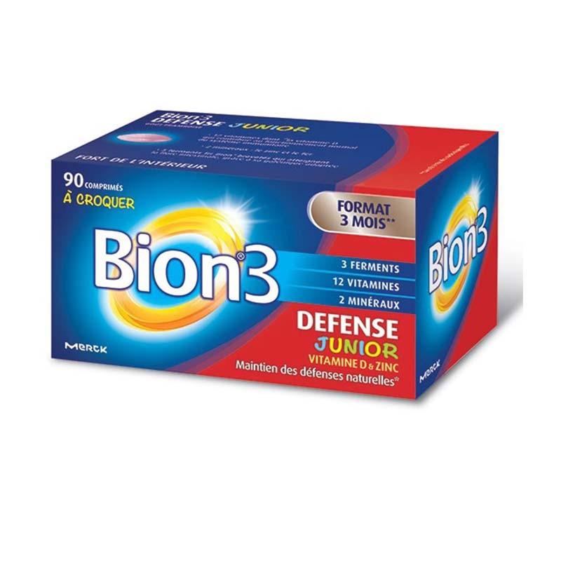 Bion 3 Defensas Junior 60 comprimidos masticables
