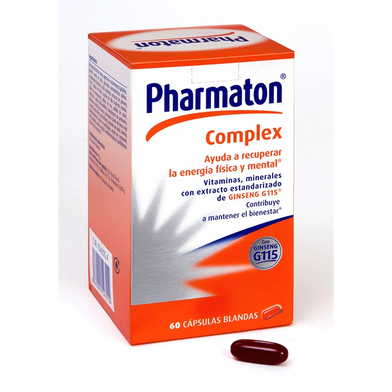 Pharmaton Complex Multivitamínico con Ginseng G115 60 cápsulas