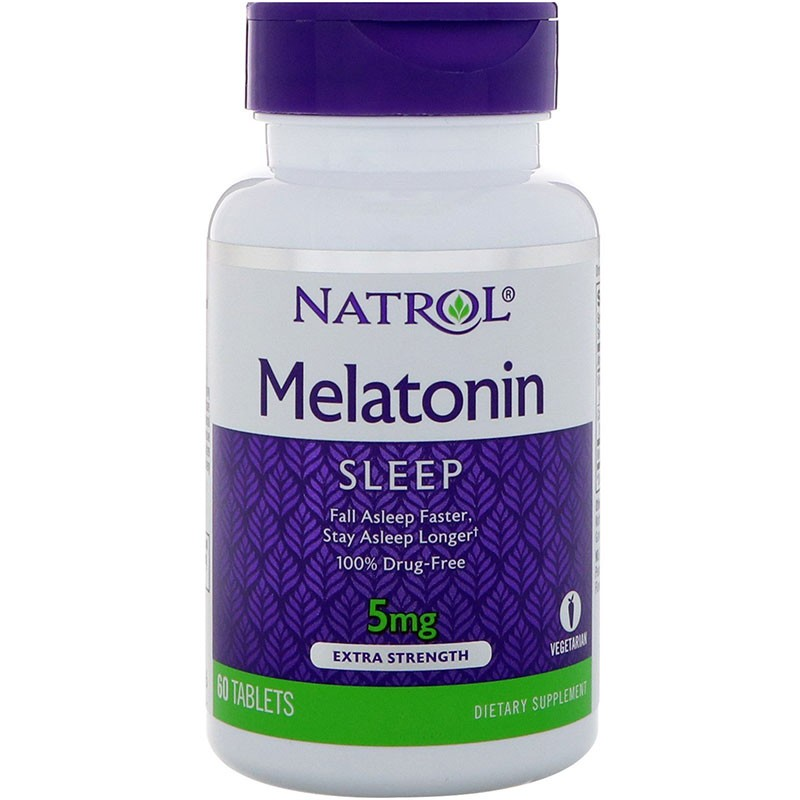 Melatonina Natrol 5mg 60 tabletas