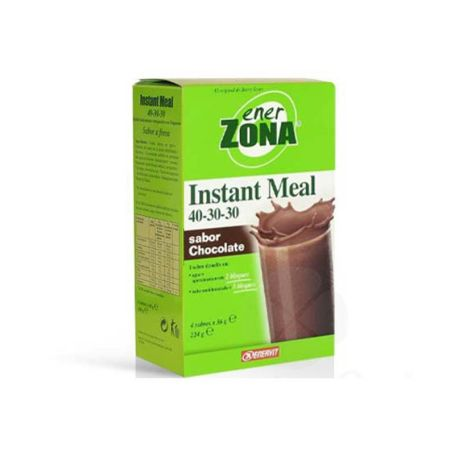Ener Zona Instant Meal 40-30-30 Chocolate 4 sobres