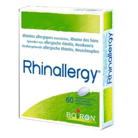 Rhinallergy Tratamiento Homeopático 40 comprimidos