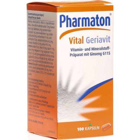Pharmaton Vital Geriavit 100 cápsulas