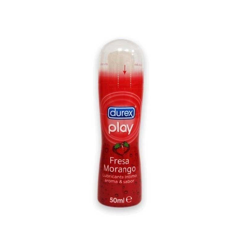 Durex Play Pleasure Gel lubricante fresa