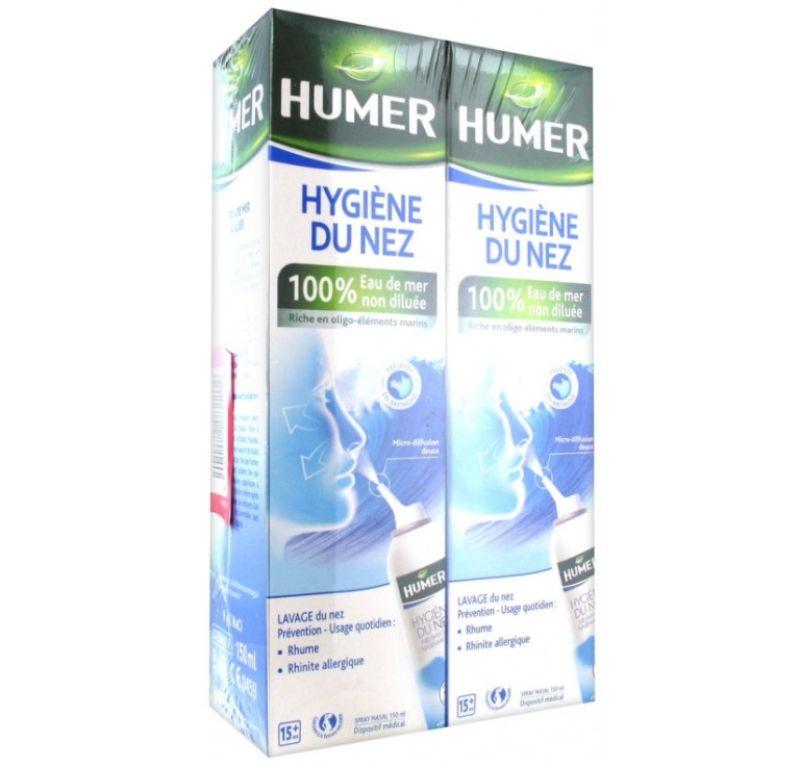 Humer Higiene Nasal Spray 150ml 2 unidades