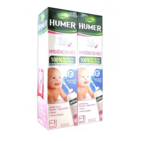 Humer Higiene Nasal Infantil 150ml pack 2 unidades