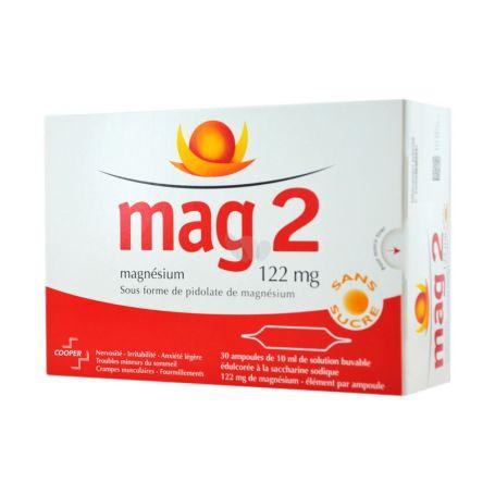 Mag 2 Magnesio 122 mg 30 ampollas