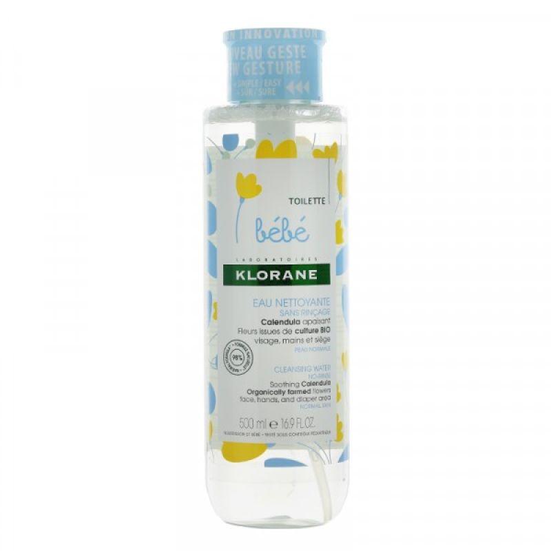 Klorane Bebé Agua Limpiadora Micelar 500ml