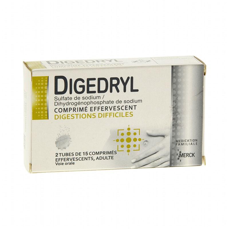 Digedryl Digestiones Difíciles 30 comprimidos efervescentes