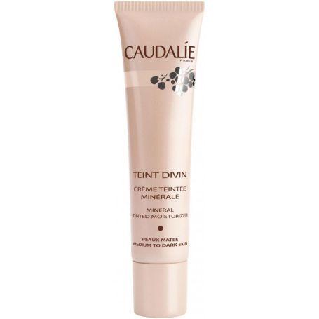 Caudalie Teint Divin crema con color para pieles oscuras 30 ml