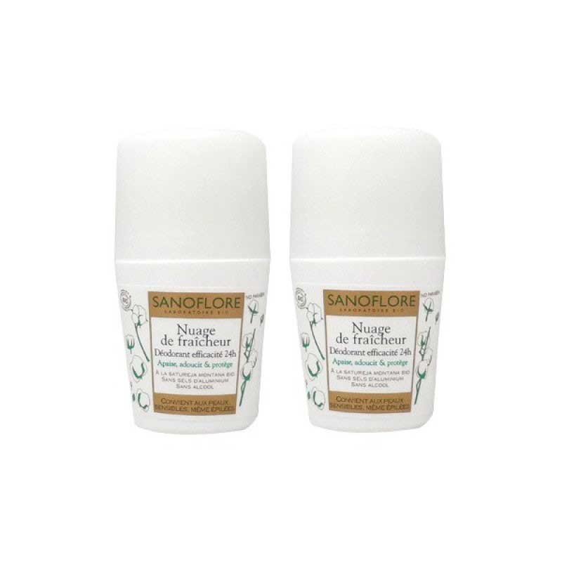 Sanoflore Desodorante Roll-on Pieles Sensibles 50ml x2