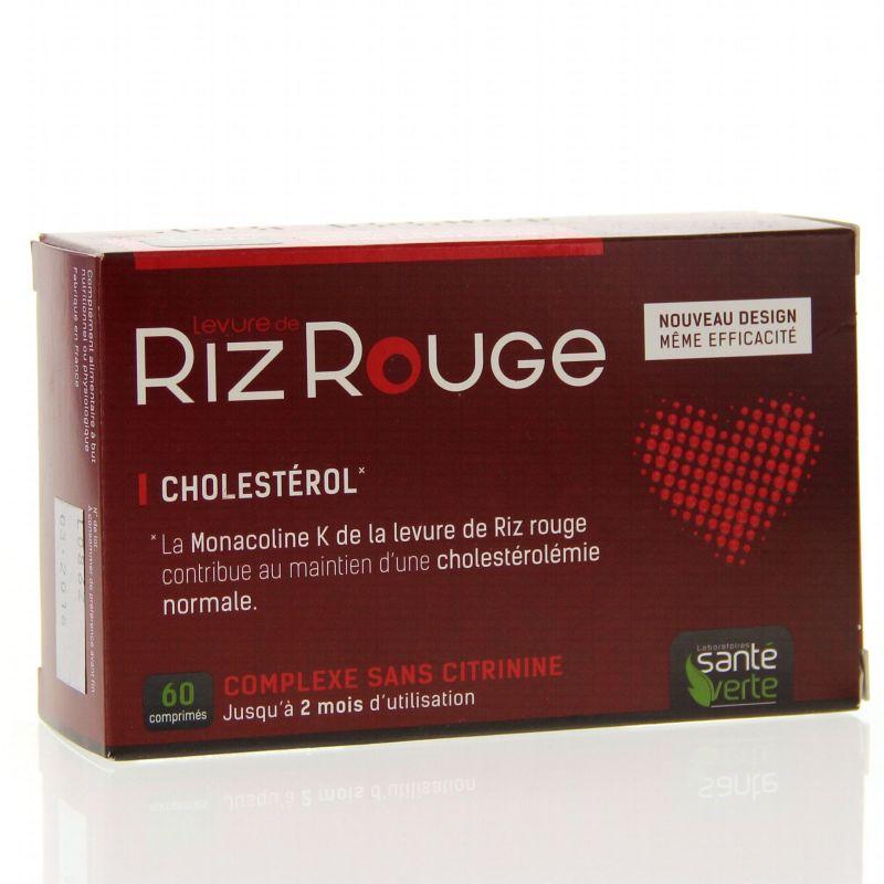 Santé Verte Levadura de Arróz Rojo 60 comprimidos