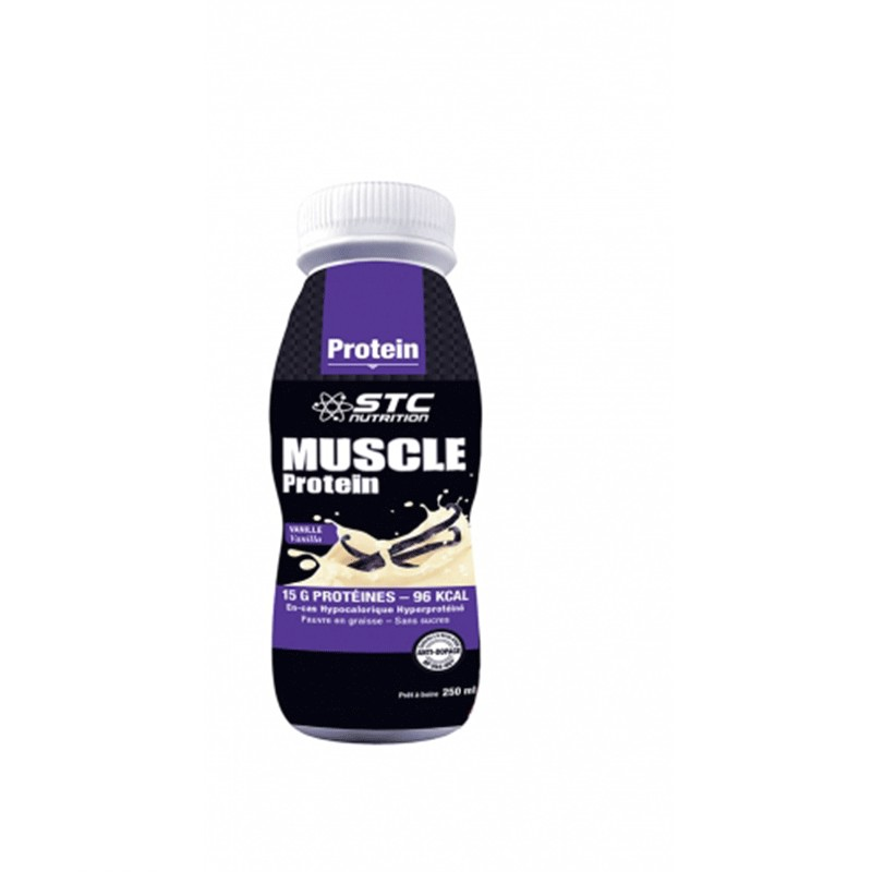 STC Nutrition Muscle Protein Sabor Vainilla 250ml