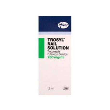 Trosid 280mg/ml Barniz de Uñas Medicamentoso 12ml