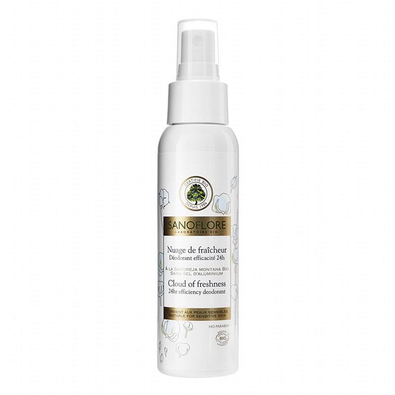 Sanoflore Nuage de Fraicheur Desodorante Spray 100ml