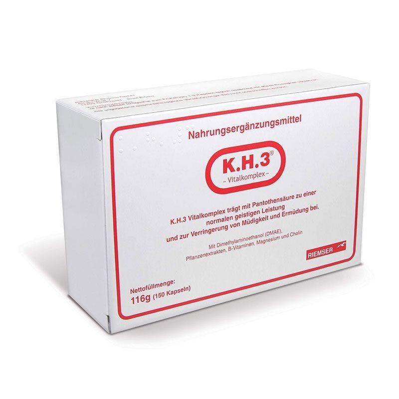 KH3 Revitalizante y Regenerador 150 cápsulas